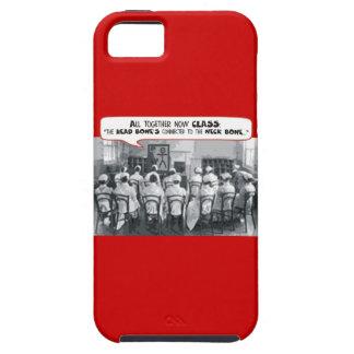 Todos junto clase ahora de cuidado iPhone 5 carcasas