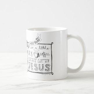 Todos lo que necesito hoy… tazas de café