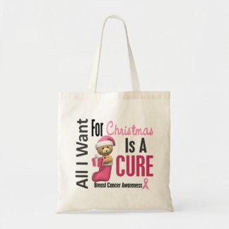 Todos lo que quiero para el cáncer de pecho del na bolsa tela barata