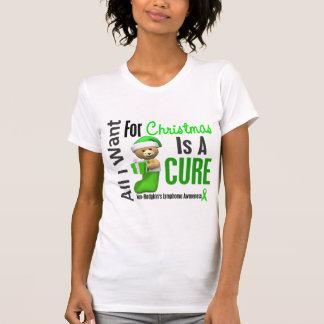 Todos lo que quiero para el linfoma Non-Hodgkin Camiseta