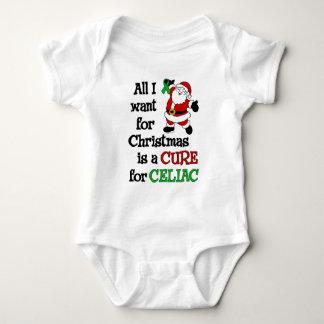 Todos lo que quiero para el navidad… celiaco body para bebé