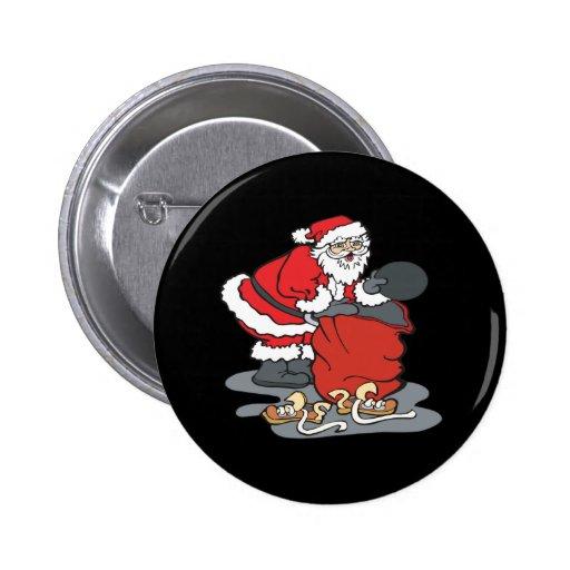 Todos lo que quiero para el navidad pin redondo 5 cm