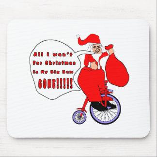 Todos lo que quiero para el navidad tapetes de raton