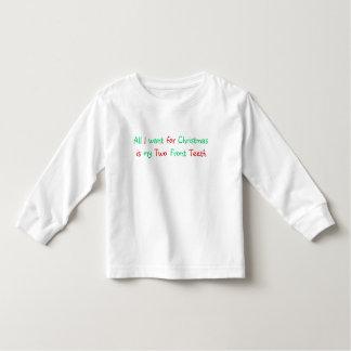 Todos lo que quiero para la camisa del navidad