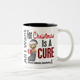 Todos lo que quiero para la diabetes juvenil del n taza de café