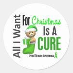 Todos lo que quiero para la enfermedad de Lyme del Etiqueta Redonda
