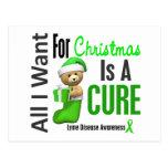 Todos lo que quiero para la enfermedad de Lyme del Tarjetas Postales