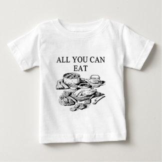todos lo que usted puede comer tee shirt