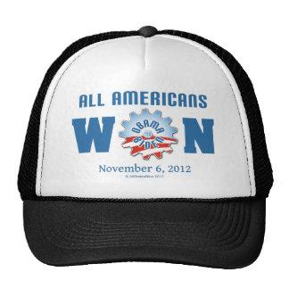 Todos los americanos ganados el 6 de noviembre de  gorro de camionero