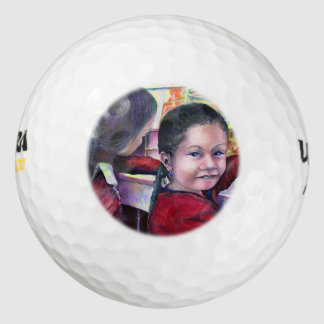 Todos los buenos chicas consiguen el helado pack de pelotas de golf