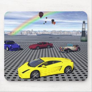 Todos los coches de deportes Mousepad Tapetes De Ratones
