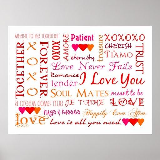 Todos los colores del amor póster