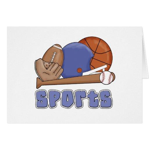 Todos los deportes tarjeta