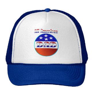 Todos los gorras americanos del papá