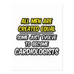 Todos los hombres son cardiólogos creados del igua postal