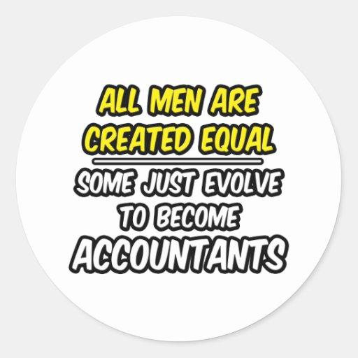 Todos los hombres son contables creados del igual… etiquetas