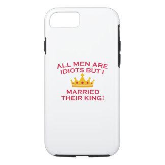 Todos los hombres son idiotas funda iPhone 7