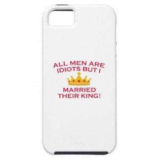 Todos los hombres son idiotas funda para iPhone SE/5/5s