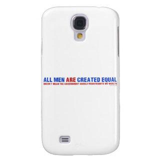 Todos los hombres son igual creado funda para galaxy s4
