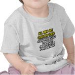 Todos los hombres son ingenieros industriales crea camiseta