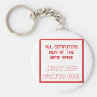 Todos los ordenadores funcionados con en la misma llavero redondo tipo pin