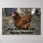 ¡Todos los pollos son Queens del drama! Poster