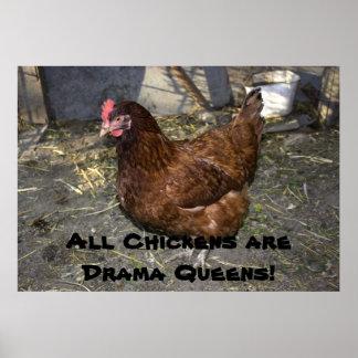 ¡Todos los pollos son Queens del drama! Póster