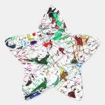 Todos los productos con un diseño abstracto calcomanía forma de estrellae