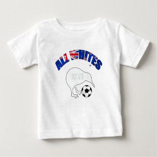 Todos los regalos de los fanáticos del fútbol del playera para bebé