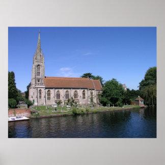 Todos los santos Marlow Buckinghamshire Impresiones