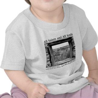 Todos los santos y todas las almas camiseta