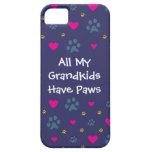 Todos mis Grandkids-Nietos tienen patas iPhone 5 Protector