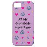 Todos mis Grandkids-Nietos tienen patas iPhone 5 Carcasas