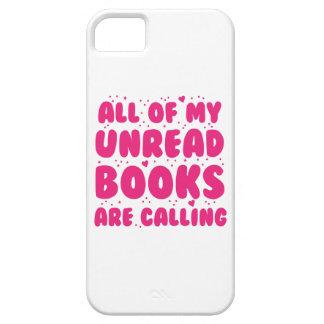 todos mis libros unread están llamando funda para iPhone SE/5/5s