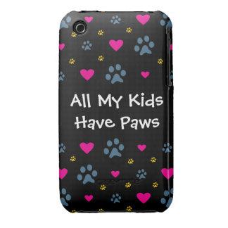 Todos mis Niño-Niños tienen patas iPhone 3 Case-Mate Cobertura
