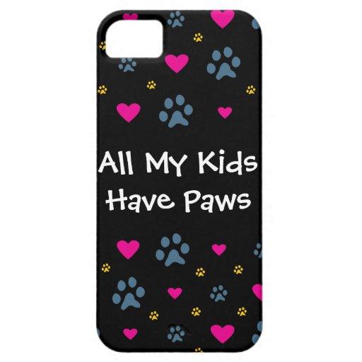 Todos mis Niño-Niños tienen patas iPhone 5 Case-Mate Protector