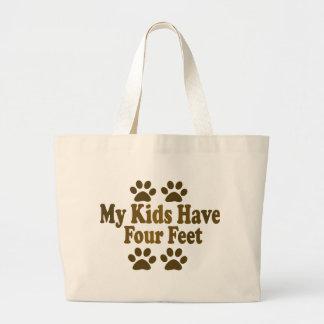 Todos mis niños tienen cuatro pies bolsa