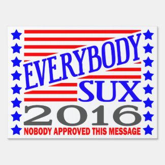Todos muestra de la elección presidencial de Sux Señales
