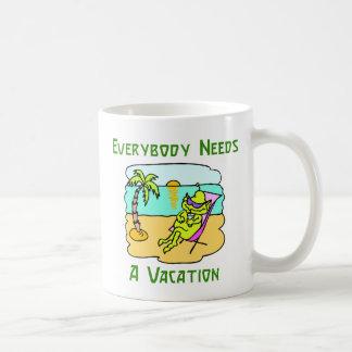 Todos necesita una taza de las vacaciones