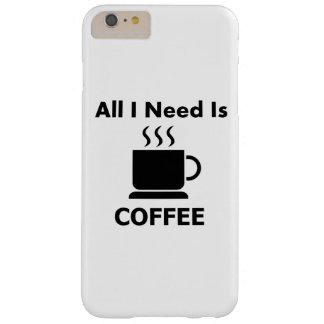 Todos necesito el café del IS-IS Funda Para iPhone 6 Plus Barely There