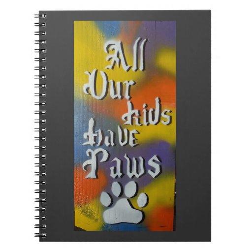 Todos nuestros niños tienen patas cuaderno