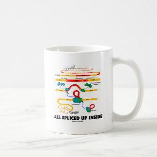 Todos para arriba empalmado interior el empalmar tazas de café