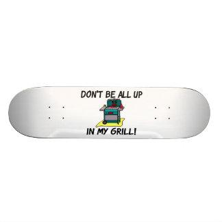 Todos para arriba en mi parrilla patines personalizados