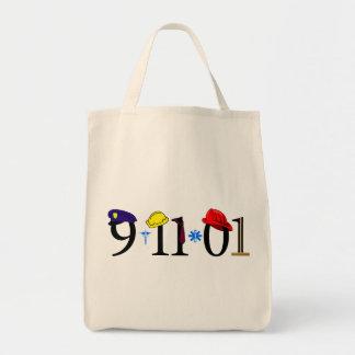 Todos que fueron perdidas 9-11-01 bolsa lienzo