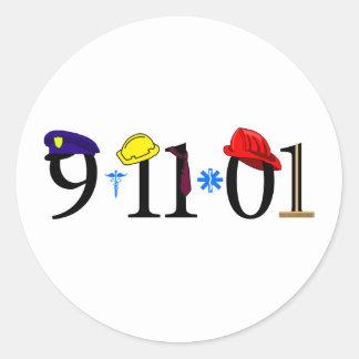 Todos que fueron perdidas 9-11-01 pegatinas