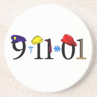 Todos que fueron perdidas 9-11-01 posavasos diseño