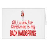 Todos quiero detrás voltereta sobre las manos tarjetas