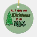Todos quiero… el ornamento de los kips adorno de navidad