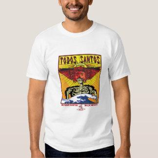 TODOS SANTOS BAJA MEXICO SURFING T SHIRT