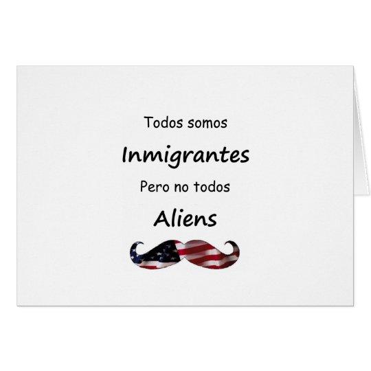 Todos Somos Inmigrantes Card